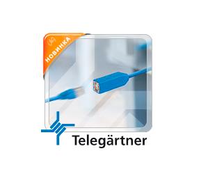 Адаптер-размыкатель компании Telegärtner  для безопасного отключения портов Ethernet