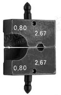 Губки для обжимного инструмента типа- LM, 2 размера