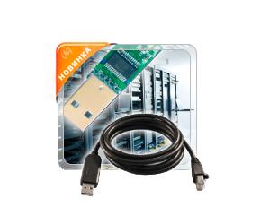 Кабели-преобразователи активные, интерфейс USB2.0 > COM RS232