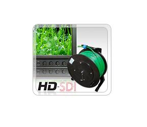 Удлинитель видео-линии CST/SDI/HDTV на катушке
