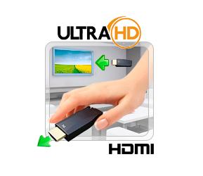 HDMI на 400м