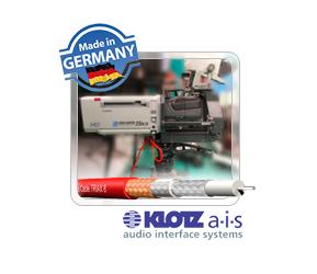 Триаксиальный кабель KLOTZ в новой оболочке
