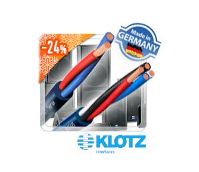 Лучшая цена на немецкие акустические кабели Klotz!