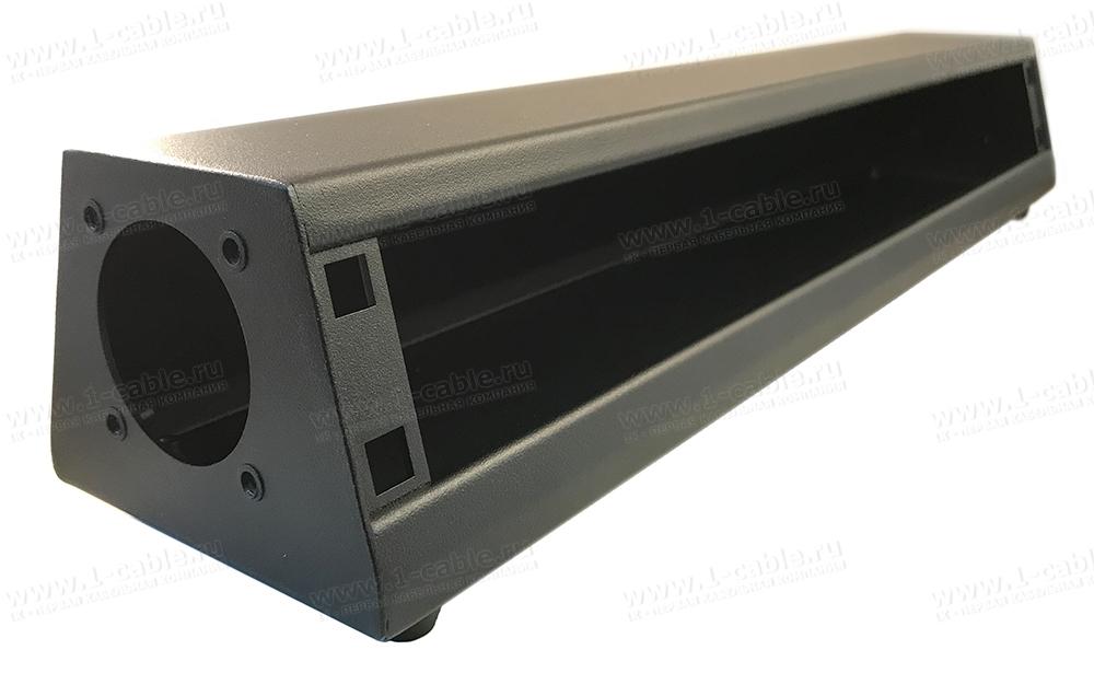 Box-1UA, Коробка под установку панелей 19'', наклонная монтажная поверхность, открытая