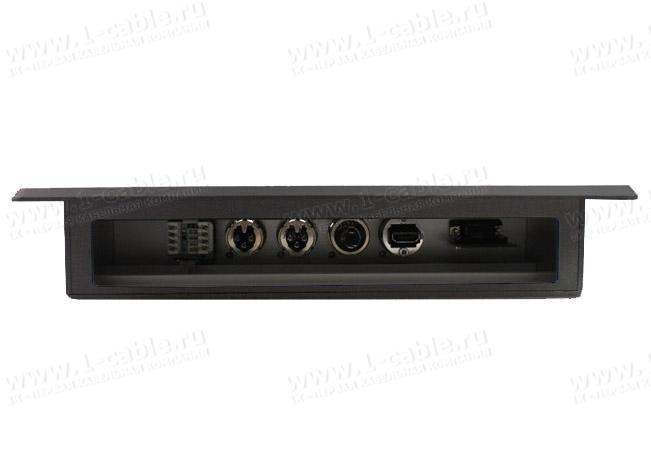 Вид со стороны подключения кабелей, модель PTR1732