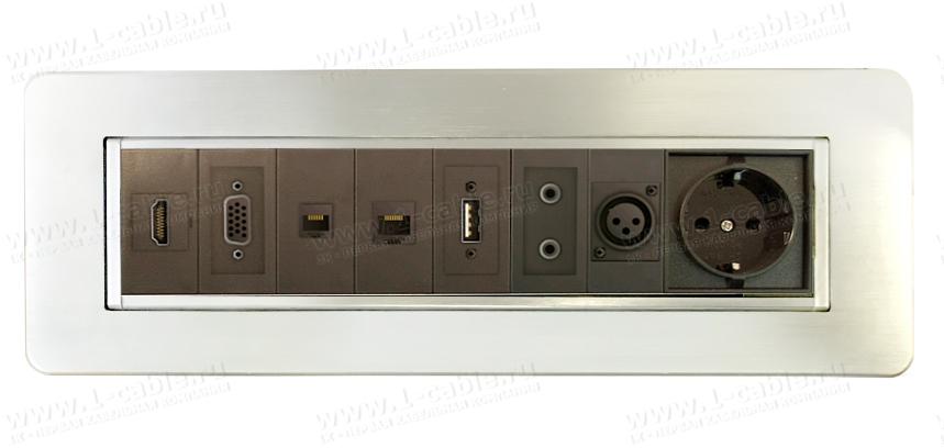 Блок TB-RTMM-08AL, коммутационная панель