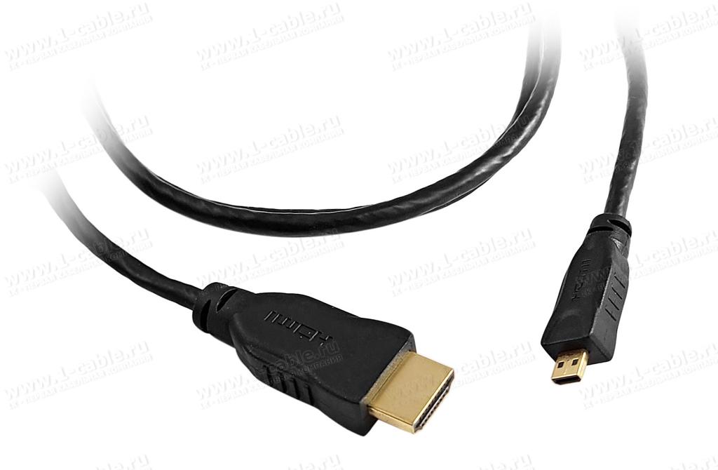 ���������� ������ HDMI, ����� Standard, micro ������ (��� D) > ������ (��� A)