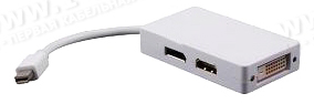 MDP2DVI/HDMI/DPF, ������� ������������� Mini DisplayPort �� DVI-D (������)/HDMI (������)/Mini DisplayPort (������)