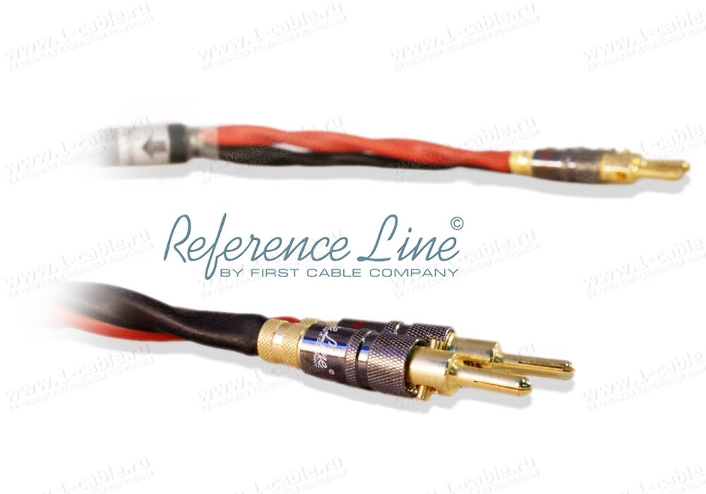 Акустический кабель, REFERENCE Line, 2x Banana > 2x Banana