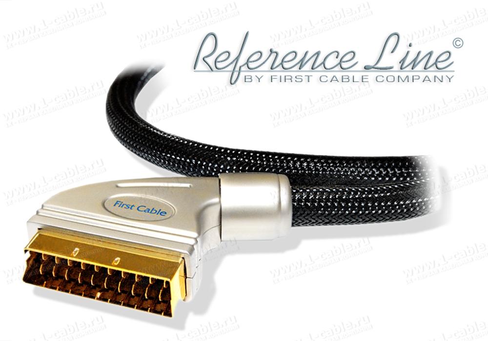 Кабель комбинированный, Reference Line, SCART > SCART (полный)