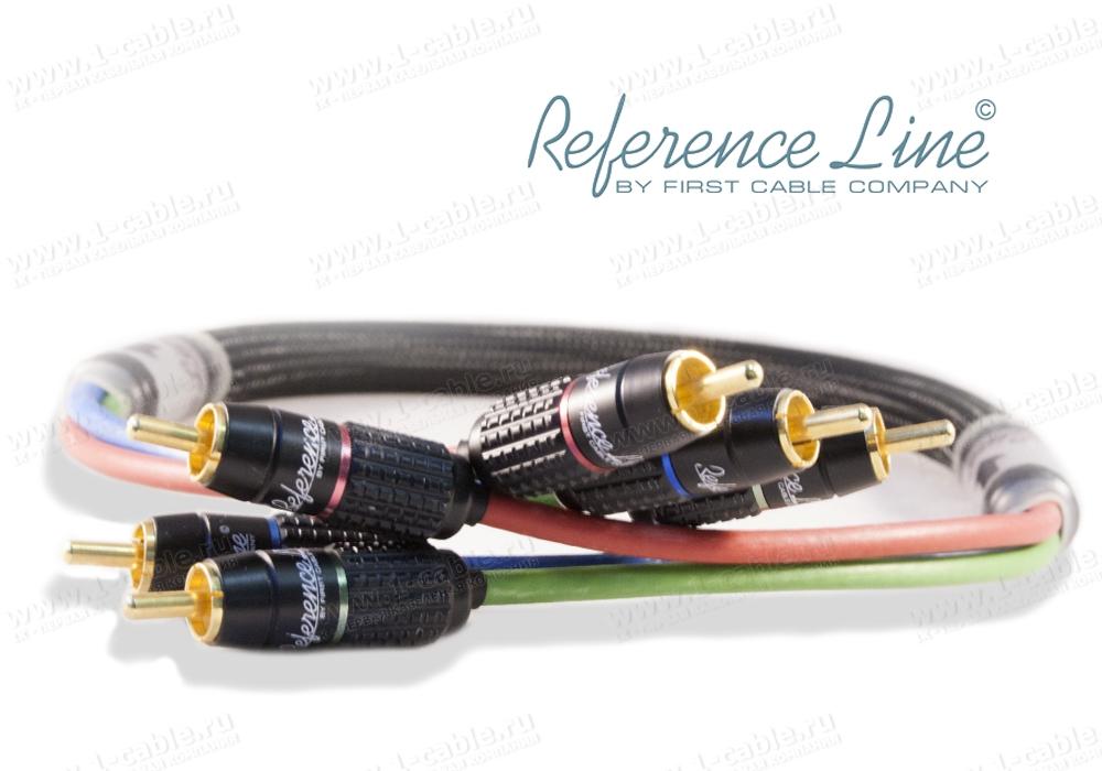 Кабель видео компонентный, YPbPr, Reference Line, 3х RCA штекер > 3х RCA штекер
