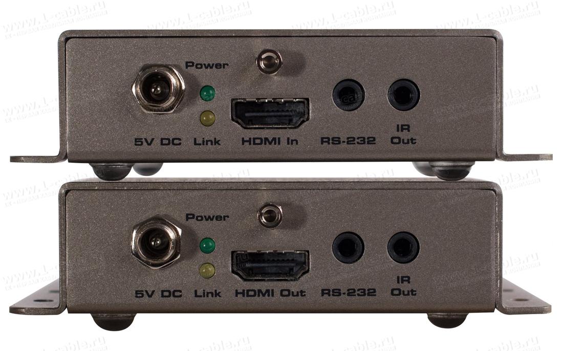 Приемик EXT-HD2IRS-LAN-RX - порты подключения