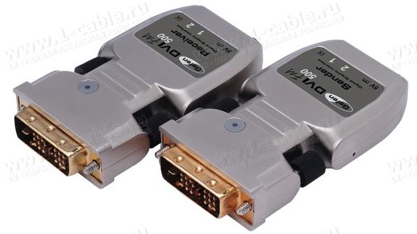 EXT-DVI-FM500, Компактный удлинитель линий DVI по оптоволокну на расстояния до 1500 м