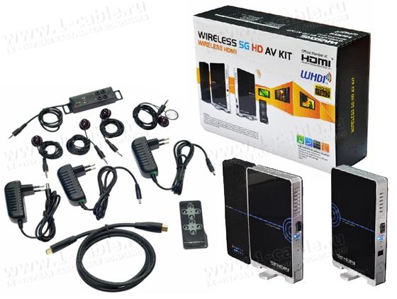 Комплект поставки HIT-WHDMI4Х2