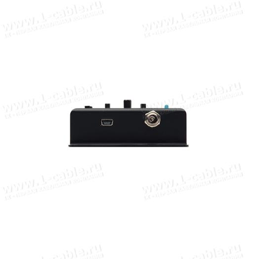 Разъем подключения питания и сервисный порт USB